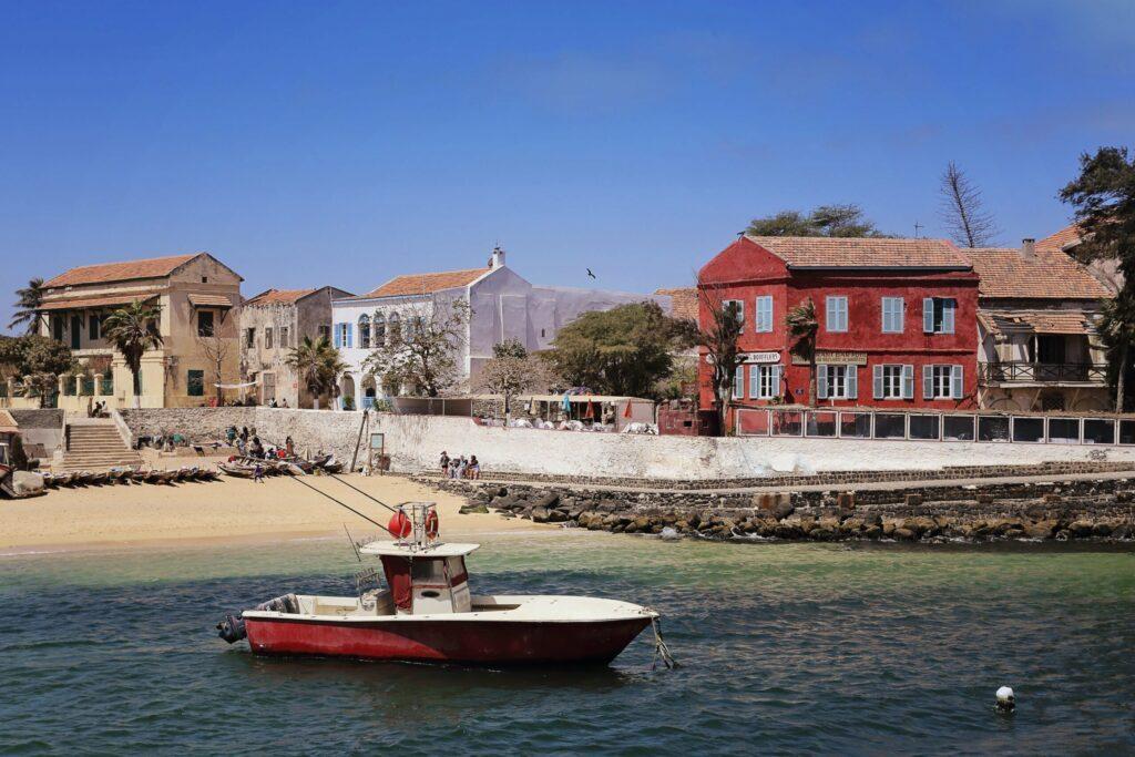 L'île de Gorée au Sénégal