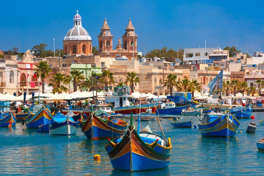 L'île de Malte en Europe