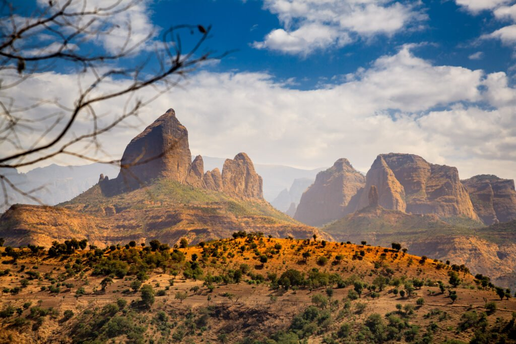 Parc national en Éthiopie