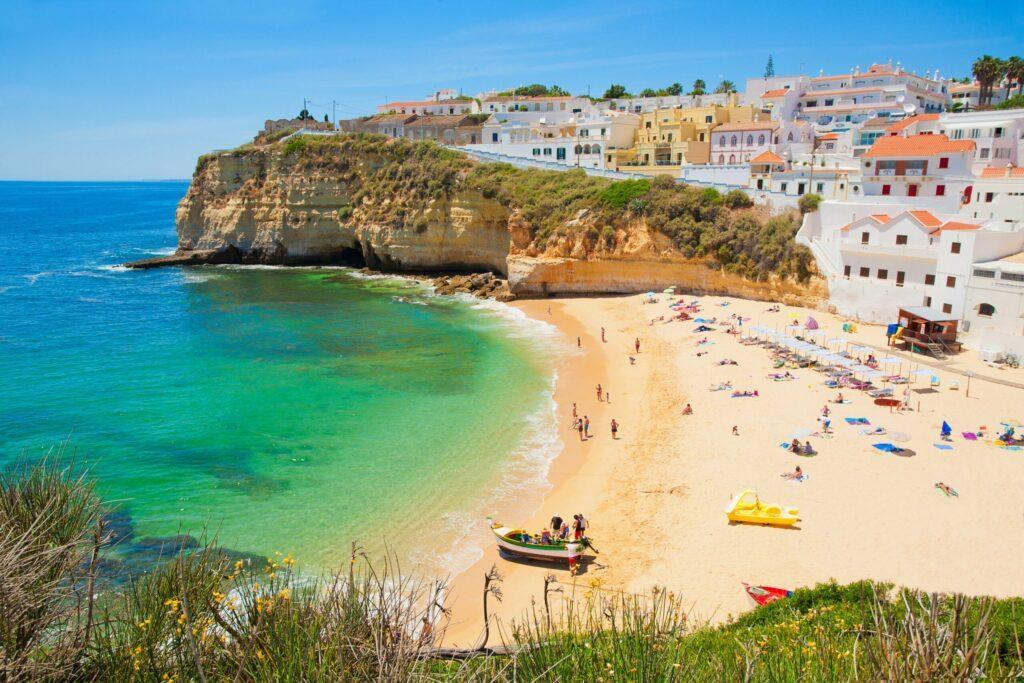 Une plage du Portugal