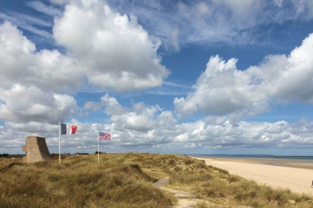 Utah Beach plages du débarquement en Normandie