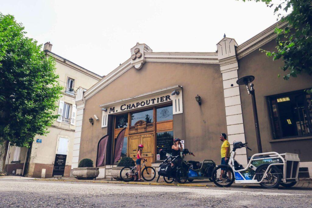 Caveau Chapoutier à Tain l'Hermitage