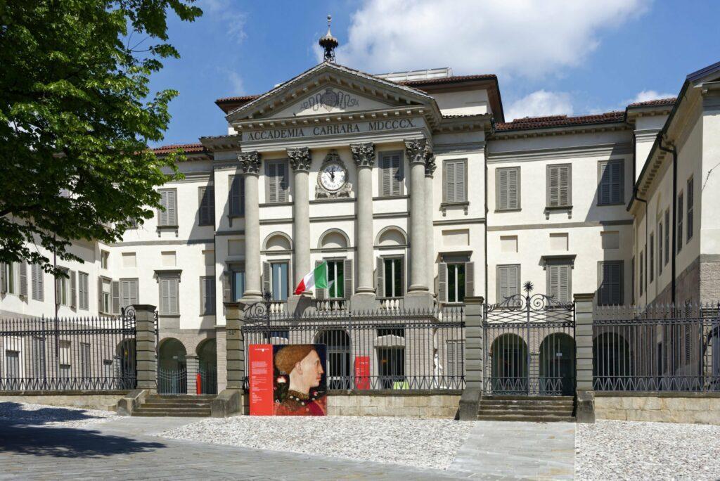 L'académie Carrara à faire à Bergame