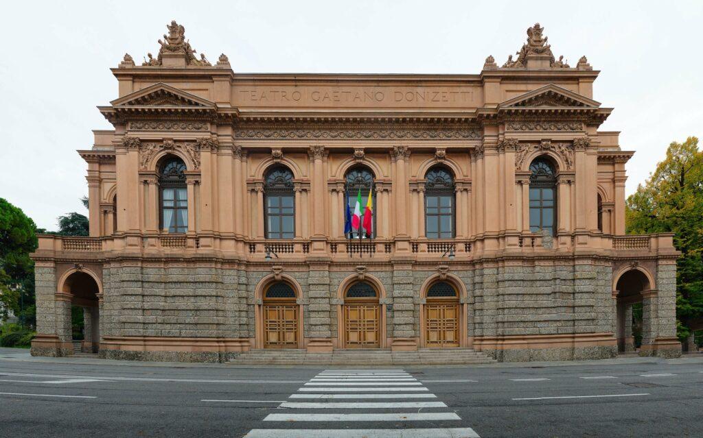 Le teatro Donizetti à faire à Bergame