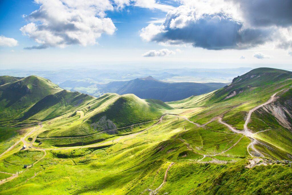 Les montagnes d'Auvergne