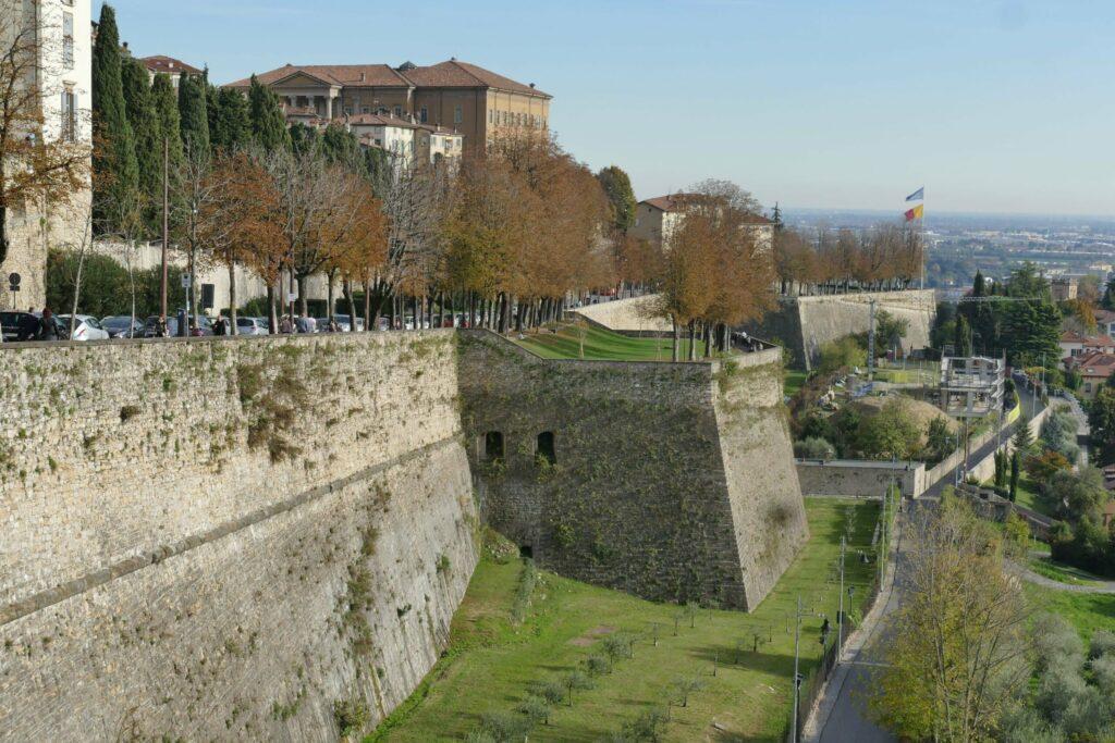 Les remparts de Bergame