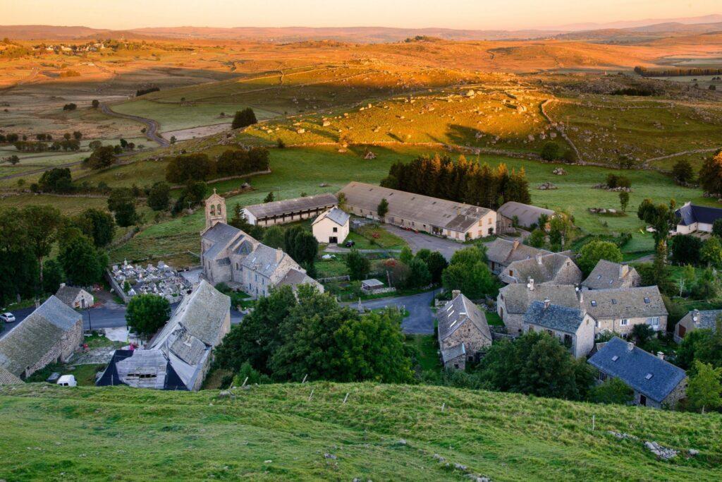 Marchastel parmi les villages de l'Aubrac