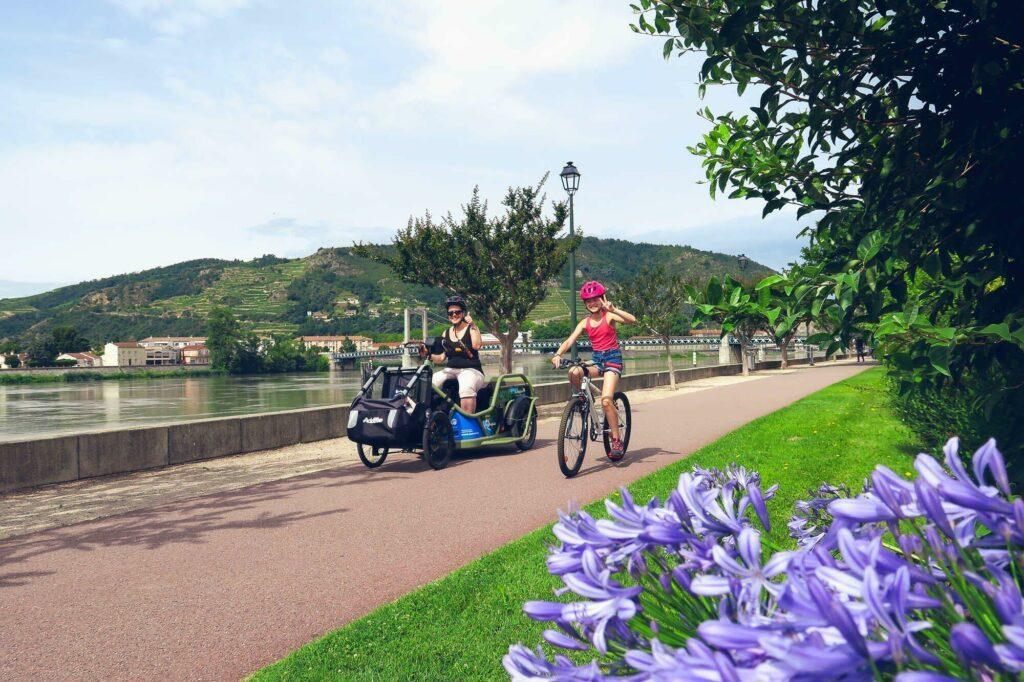 La ViaRhôna en vélo (ou en handbike)