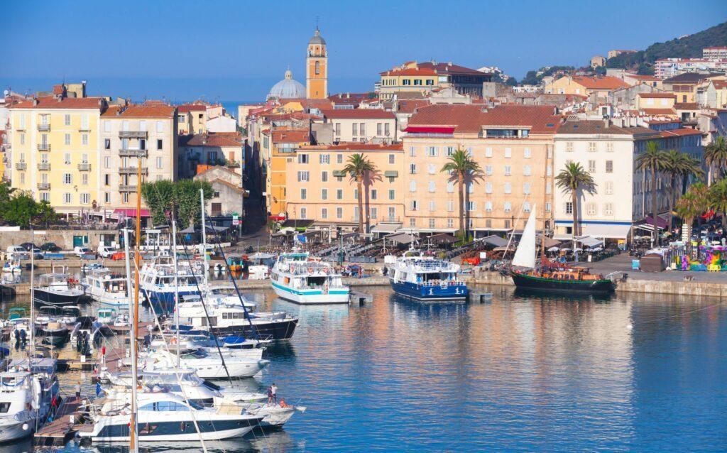 Ajaccio en Corse du sud