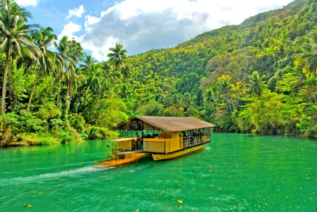 La province de Bohol aux Philippines
