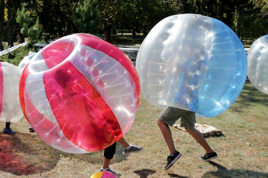 Le Bubble foot pour s'amuser à Bordeaux