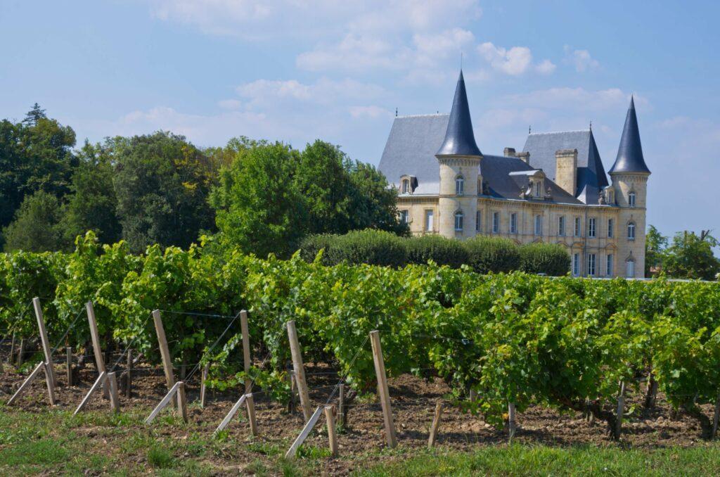 Le château viticole du médoc