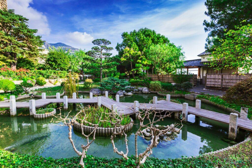 Le jardin japonais à faire à Monaco