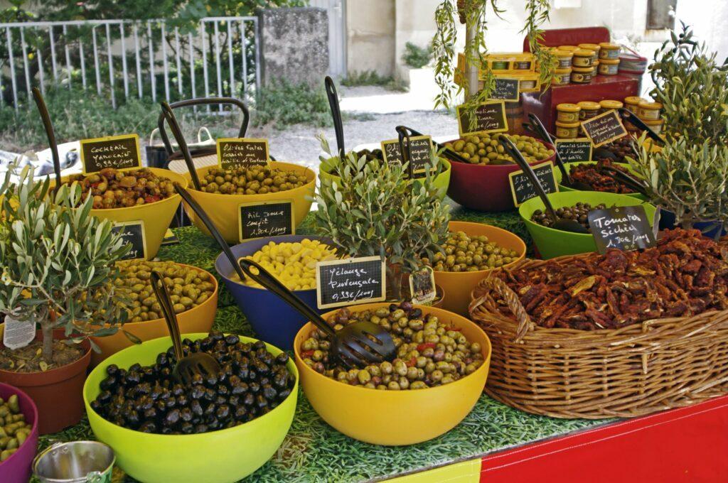 Le marché de Monte-Carlo