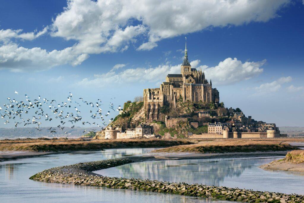 Le Mont Saint-Michel en France