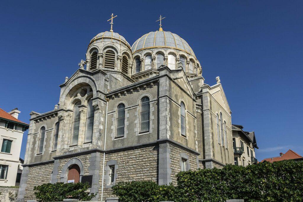 L'église Orthodoxe de Biarritz