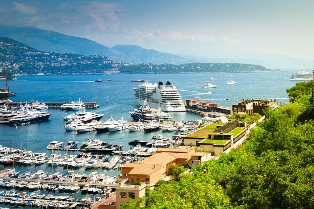 Les bateaux du port Hercule
