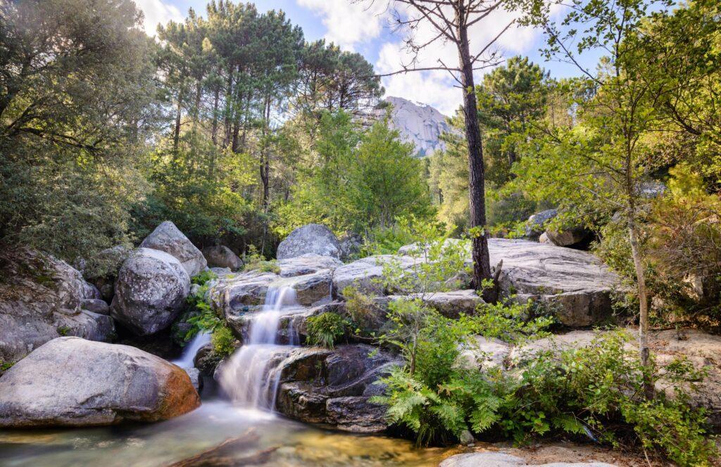 Les cascades de Polischellu
