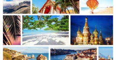 Les plus beaux pays du monde