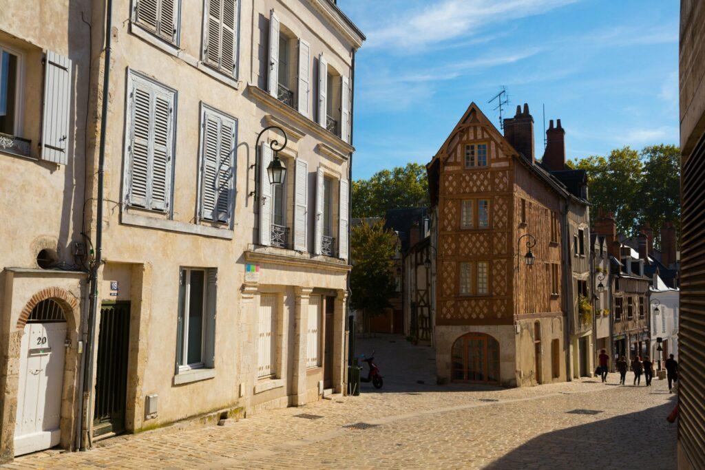 Les ruelles d'Orléans