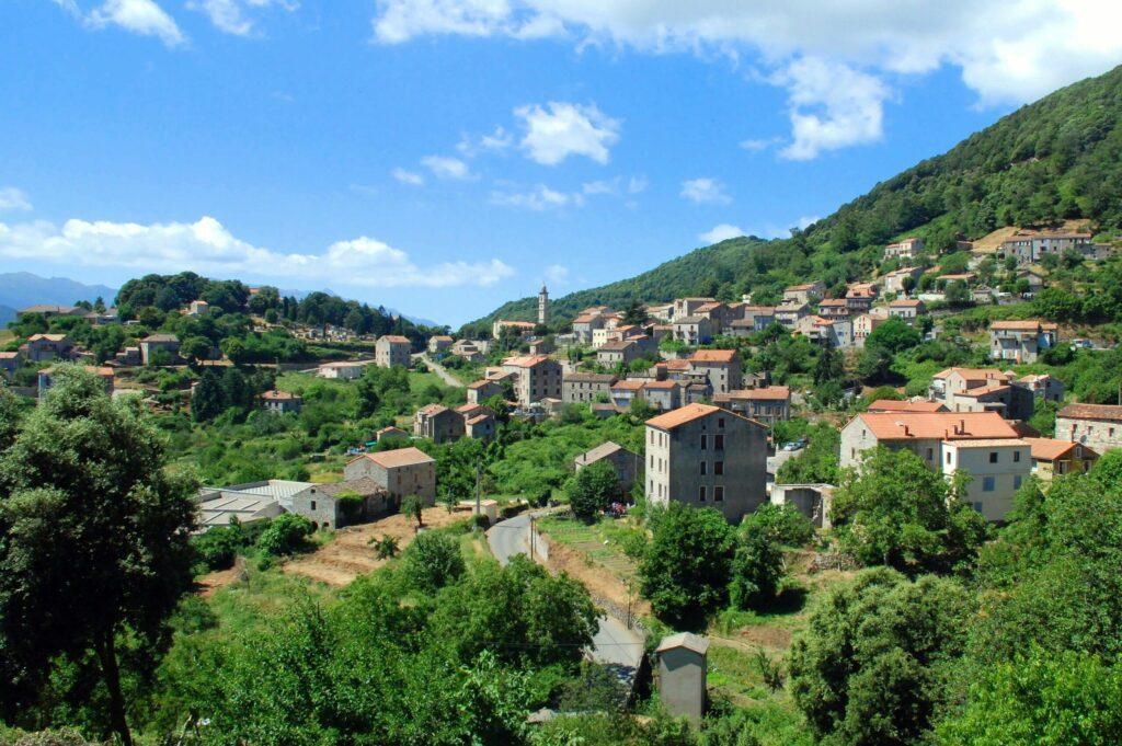 Levie, un village de l'Alta Rocca