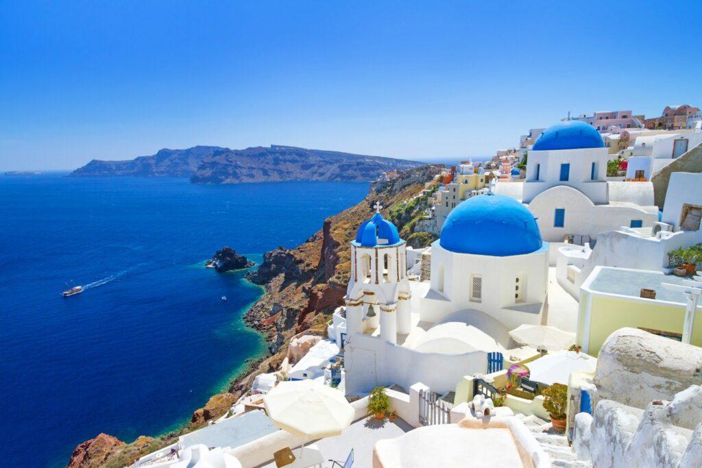 L'île de Santorin en Grèce