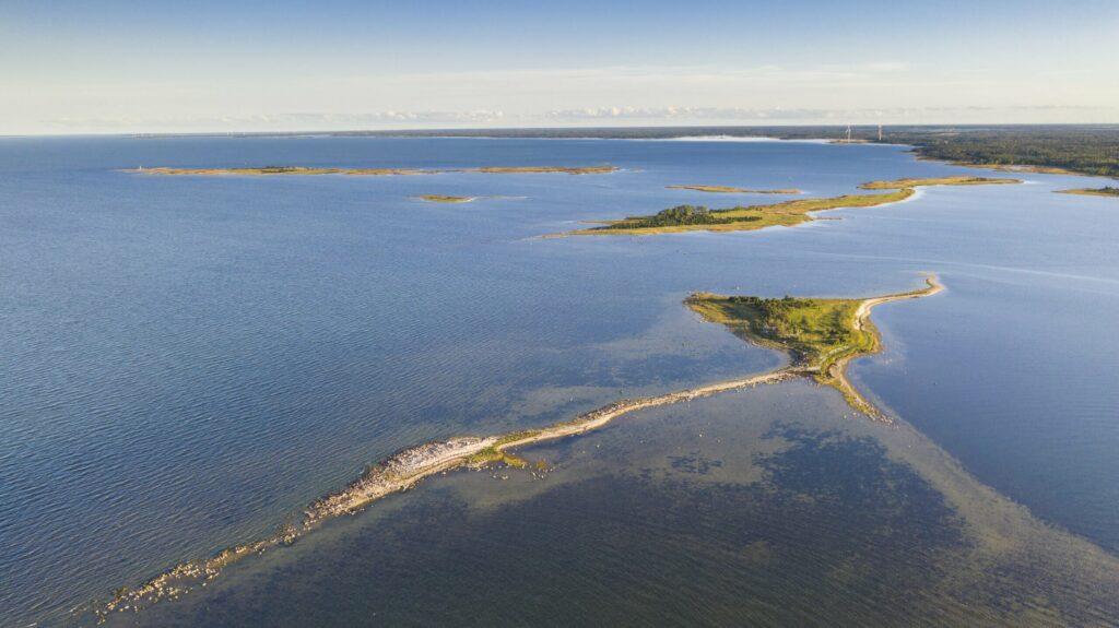 Se rendre sur une île en Estonie