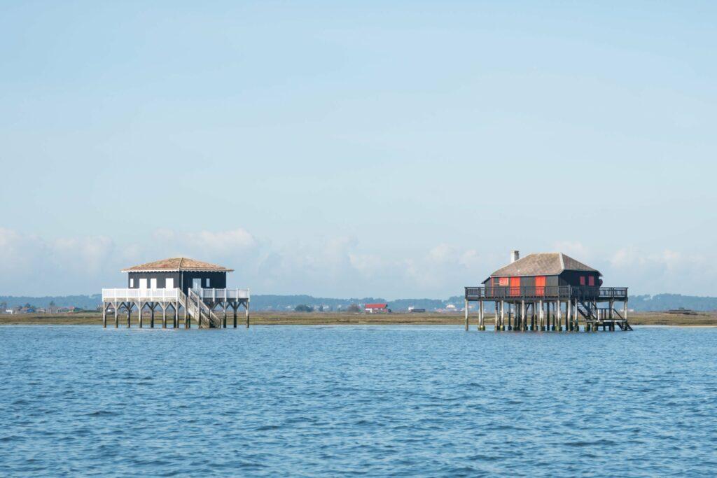 Les cabanes tchanquées de l'île aux Oiseaux